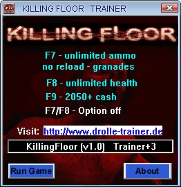 Killing Floor: Trainer (+3) [1.0] {drolle}