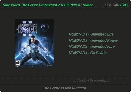 Star Wars: The <b>Force Unleashed 2</b>: Trainer (+4) [1.0] {KelSat ...