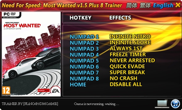 Download trainer nfs most wanted a criterion game