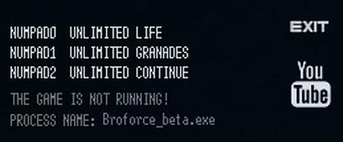 Broforce: Trainer (+3) [53.99 20160623204] {LIRW / GHL}