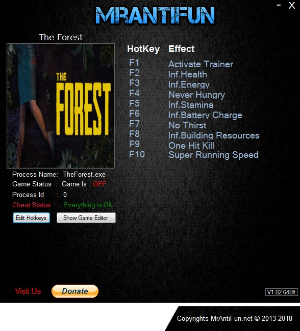 the forest 1.09 trainer download