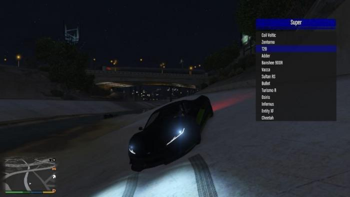 Grand Theft Auto 5 (GTA V): Cheat-Mode (Infernus V [SP] 0.685)