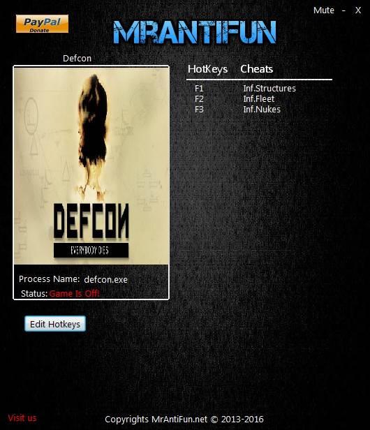 Defcon: Trainer +3 V1 61 {MrAntiFun} - Download - GTrainers