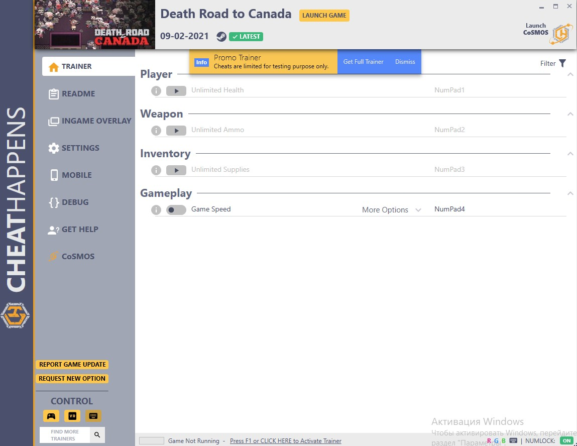 Death Road to Canada: Trainer +3 v1.00 {MrAntiFun}