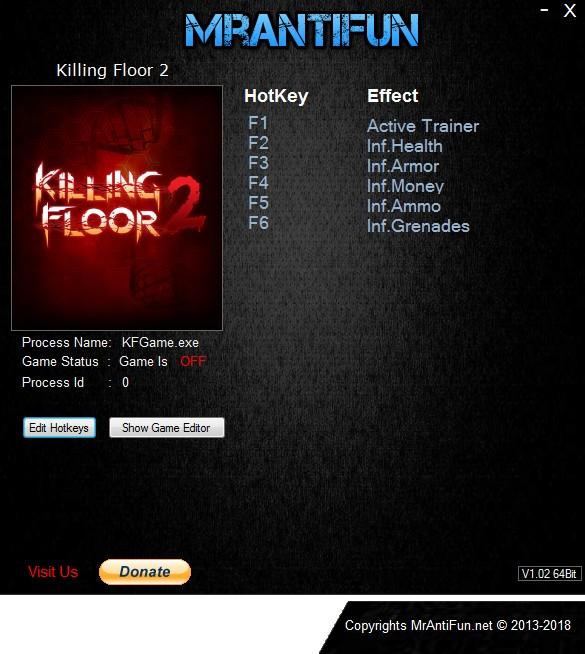 Killing Floor 2: Trainer +5 v1071 {MrAntiFun}