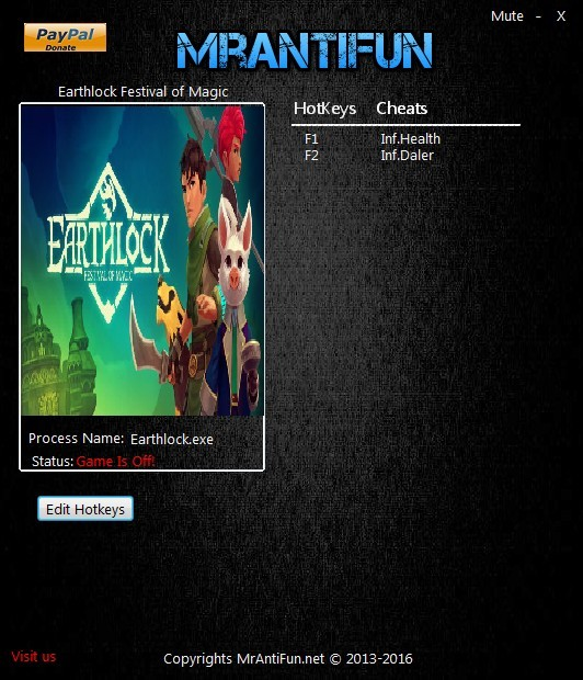Earthlock: Festival of Magic - Trainer +2 V1.00 {MrAntiFun}