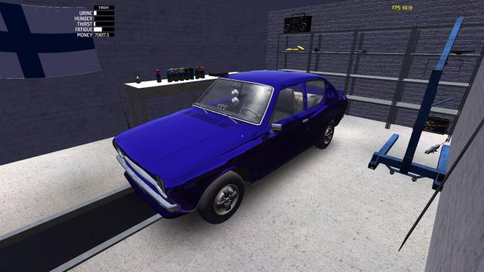 My Summer Car Save Savegame The Car Is Assembled