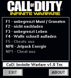 Call of Duty: Infinite Warfare: Trainer (+5) [1.0] {dR.oLLe}