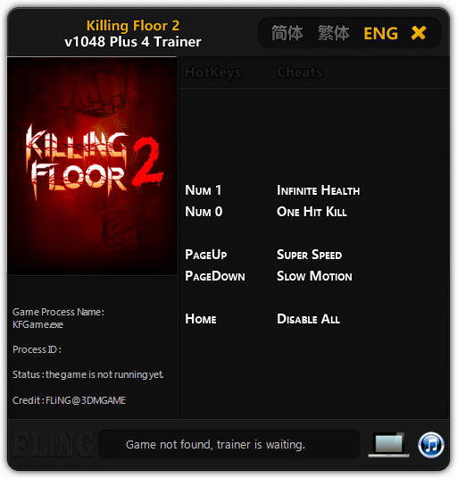 Amazing Killing Floor 2: Trainer +4 V1048 {FLiNG}