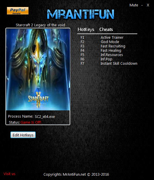 Starcraft 2 heart of the swarm +13 trainer download [remove fog.