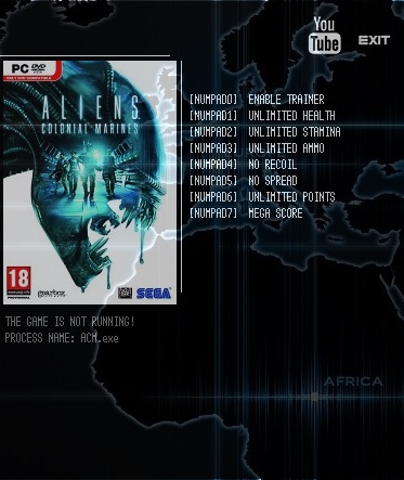 Aliens Colonial Marines - Complete Edition: Trainer (+7) [1.0] {LIRW / GHL}