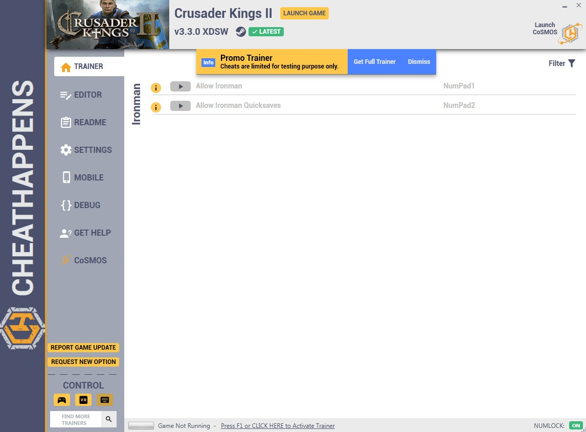 Crusader Kings II: Trainer +6 v2 8 2 WVUU (05 17 2018) {CheatHappens
