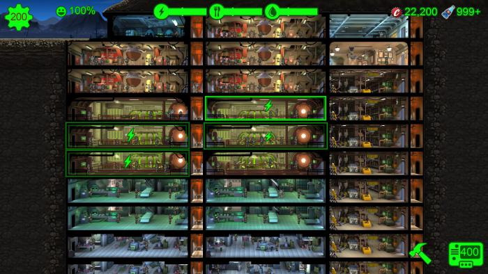 Fallout Shelter: Save Game (All at the maximum)