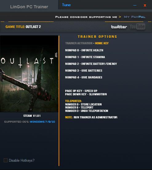 скачать трейнер для Outlast - фото 8