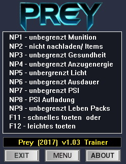 Prey (2017): Trainer (+12) [1.03] {dR.oLLe}