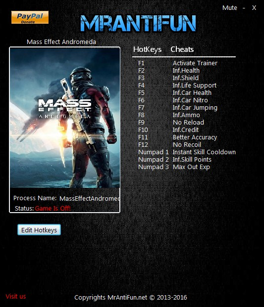 <b>Mass Effect</b>: <b>Andromeda</b>: Trainer (+14) [1.08] {MrAntiFun ...