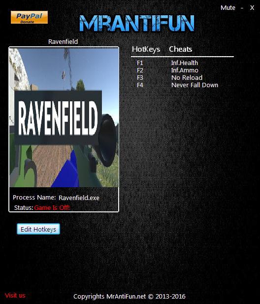 Скачать трейнер для ravenfield build 1
