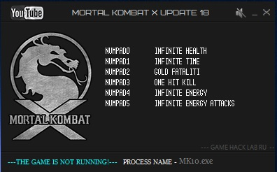 Трейнер для mortal kombat x
