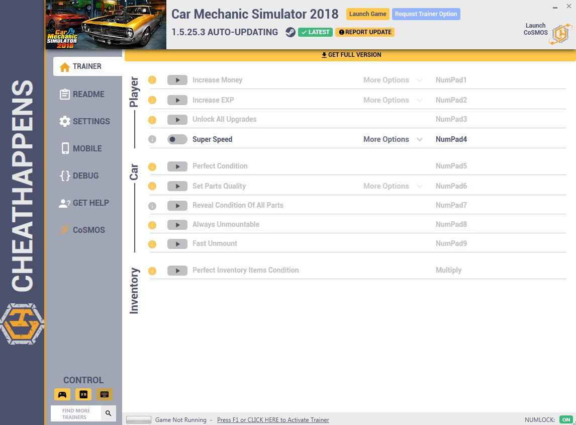 Car Mechanic Simulator 2018: Trainer +10 v1 5 25 3 {CheatHappens com