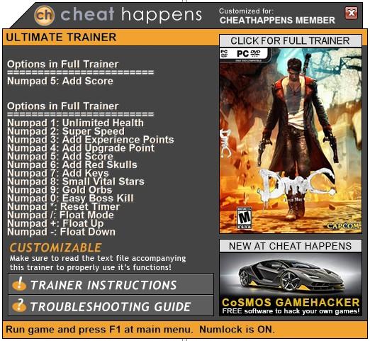 скачать трейнер для игры Dmc Devil May Cry - фото 11