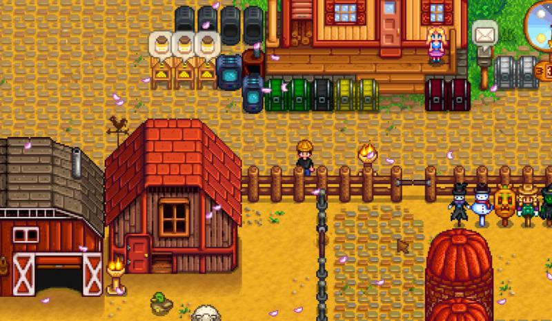 Stardew Valley: Save Game (Spring 2nd year, Hayley's wife, 1 Child)