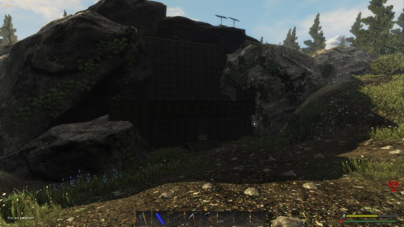 Subsistence: Save Game (2-storey house for a single and a steel bunker for online)
