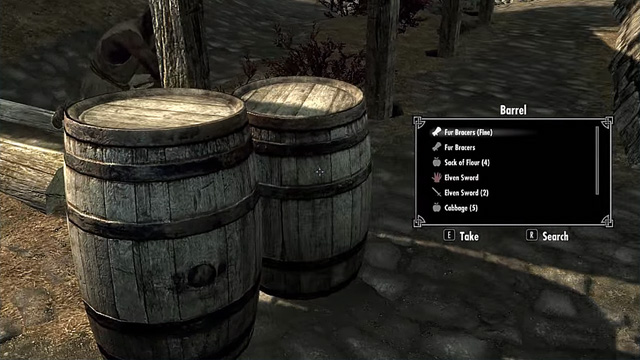 The Elder Scrolls 5: Skyrim: GAME MOD Quick Loot v.1.1f