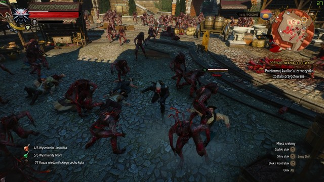 The Witcher 3: Wild Hunt GAME MOD Infection mode v.1.01