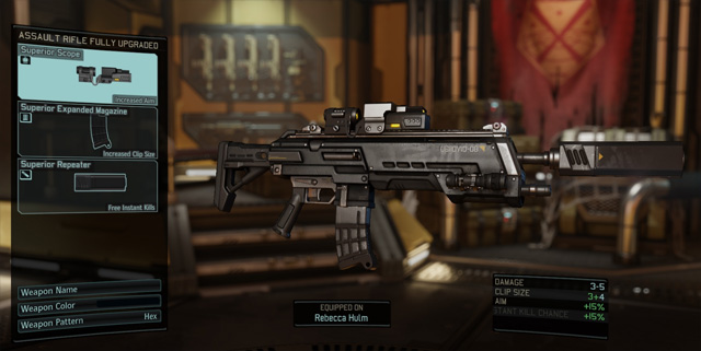 XCOM 2 GAME MOD Extra Weapon Upgrade Slots v.0.1
