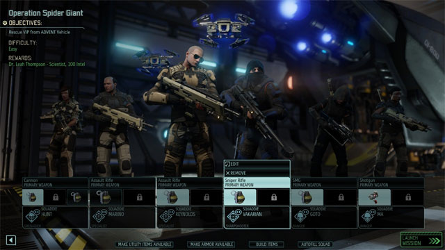 XCOM 2 GAME MOD Increase default squad size v.1.0