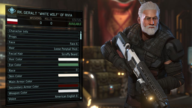 XCOM 2 GAME MOD Witcher Character Pool v.0.5