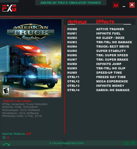 American truck simulator code argent