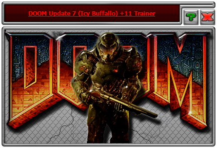 Doom (2016): Trainer (+11) [Update 7: OpenGL Version] {iNvIcTUs oRCuS / HoG}
