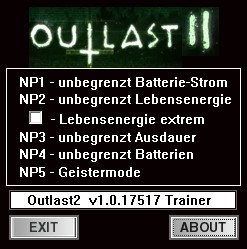 Outlast 2: Trainer (+5) [1.0.17517.0] {dR.oLLe}