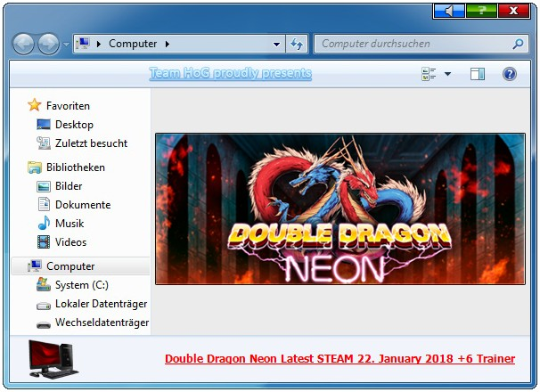 Double Dragon: Neon - Trainer (+6) [UPD: 22.01.2018] {iNvIcTUs oRCuS / HoG}