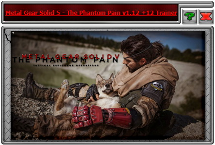 Metal Gear Solid 5: The Phantom Pain: Trainer +12 v1.12 {iNvIcTUs oRCuS / HoG}