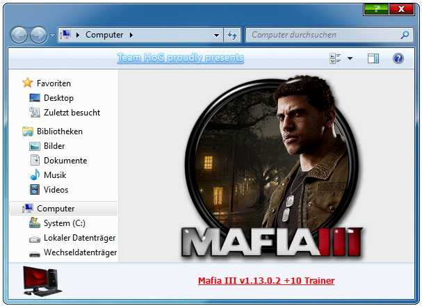 Mafia 3: Trainer +9 v1.13.0.2 {iNvIcTUs oRCuS / HoG}