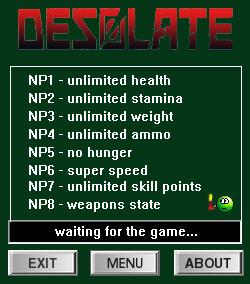 Desolate: Trainer +9 v0.8.14 {dR.oLLe}