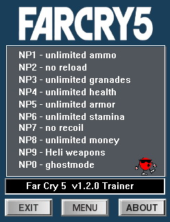 Far Cry 5: Trainer +10 v1 2 0 {dR oLLe} - Download - GTrainers