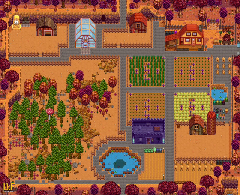 Stardew Valley: Save Game (Male, big farm) [Writer102]