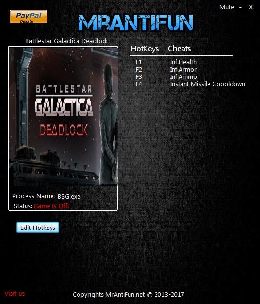 Battlestar Galactica Deadlock: Trainer +4 v1.0.35 {MrAntiFun}