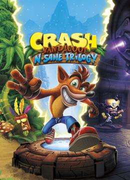 Crash Bandicoot N. Sane Trilogy: Save Game (The game done 100%)