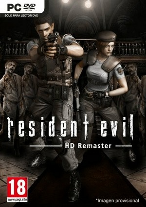 Resident Evil: HD Remaster - Save Game (The game done 100