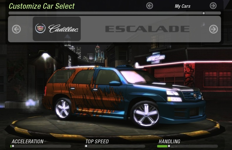 Need for Speed: Underground 2: Save Game (The game done 100%)