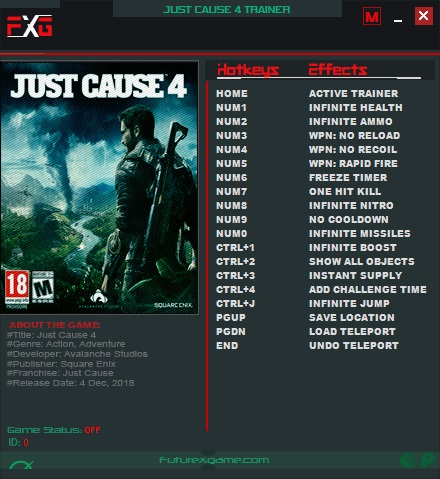 just cause 3 cpy trainer