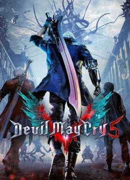 Devil May Cry 5 - Deluxe Edition: Save Game (The game done 100%, Son of Sparda)