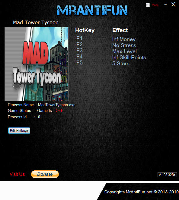 Mad Tower Tycoon: Trainer +5 v19.06.21a {MrAntiFun}