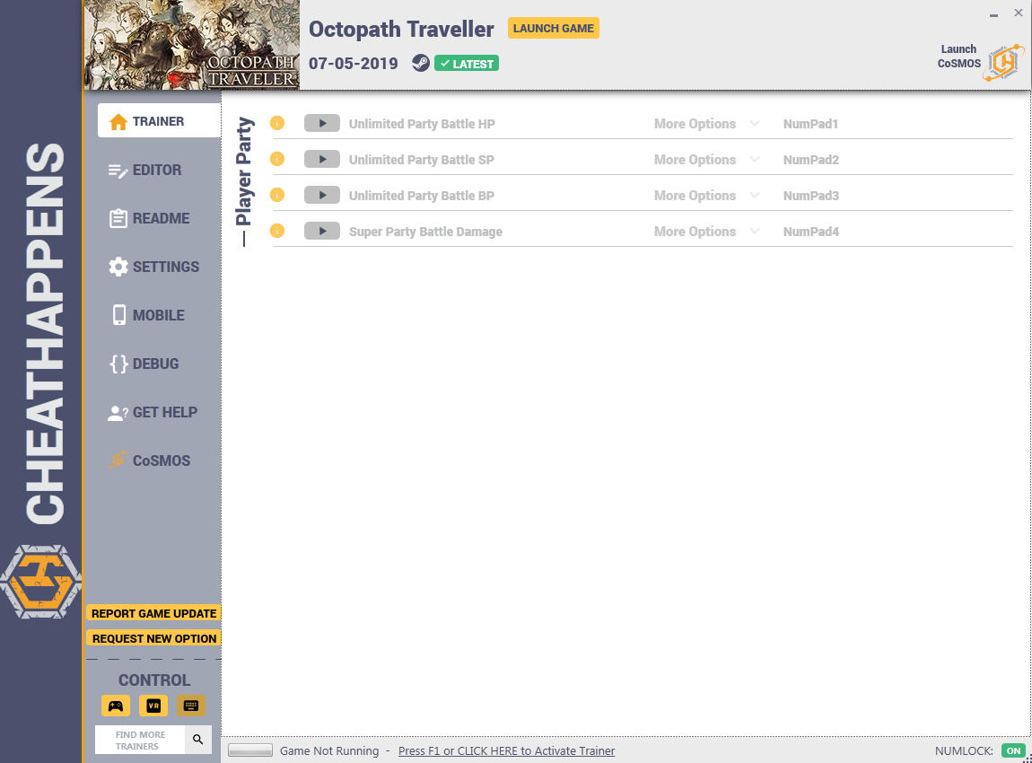 Octopath Traveler: Trainer +16 v1.0 {CheatHappens.com}