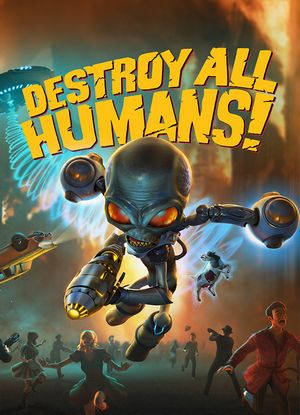 Destroy all Humans! SaveGame (The Game done 100%)