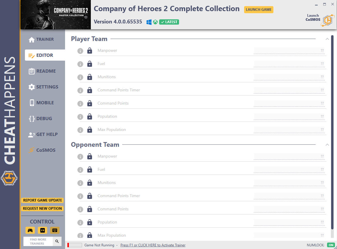 Company of Heroes 2: Complete Collection - Trainer +15 v4.0.0.65535 {CheatHappens.com}